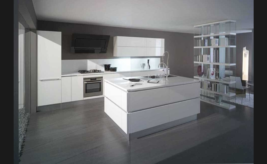 cuisines modernes italiennes avec des id es int ressantes pour la conception de. Black Bedroom Furniture Sets. Home Design Ideas